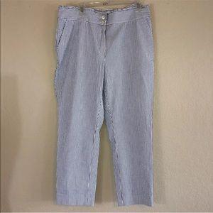 Brooks Brothers Red Fleece Seersucker Pants 14